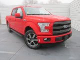 2016 Race Red Ford F150 Lariat SuperCrew #110473055