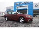 2016 Butte Red Metallic Chevrolet Malibu LS #110495182