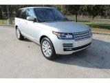 2016 Land Rover Range Rover Indus Silver Metallic