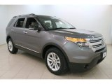 2014 Sterling Gray Ford Explorer XLT 4WD #110495281