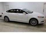 2016 White Platinum Tri-Coat Metallic Ford Fusion SE AWD #110494845
