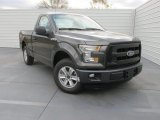 2016 Magnetic Ford F150 XL Regular Cab #110524251