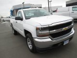 2016 Summit White Chevrolet Silverado 1500 WT Regular Cab 4x4 #110524288