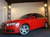 2008 Brilliant Red Audi A4 2.0T quattro Sedan #11048588