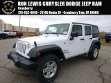 2016 Bright White Jeep Wrangler Unlimited Sport 4x4 #110550196
