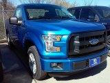 2016 Blue Flame Ford F150 XL Regular Cab #110550132