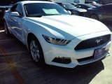 2016 Oxford White Ford Mustang V6 Coupe #110550128