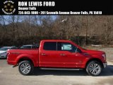 2016 Race Red Ford F150 XLT SuperCrew 4x4 #110550182