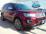 2016 Ruby Red Metallic Tri-Coat Ford Explorer Platinum 4WD #110550124