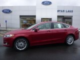 2016 Ruby Red Metallic Ford Fusion SE #110550502