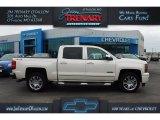2014 White Diamond Tricoat Chevrolet Silverado 1500 LT Crew Cab 4x4 #110550098