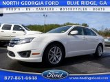 2011 White Suede Ford Fusion SEL #110550024