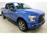 Blue Flame Ford F150 in 2016