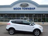 2014 White Platinum Ford Escape SE 2.0L EcoBoost 4WD #110586342