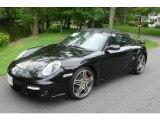 2008 Black Porsche 911 Turbo Cabriolet #11039440