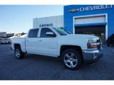 2016 Summit White Chevrolet Silverado 1500 LT Crew Cab #110586417