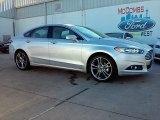 2016 Ingot Silver Metallic Ford Fusion Titanium #110586186