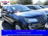 2016 Blue Jeans Metallic Ford Explorer XLT #110586172
