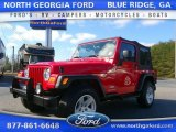 2006 Flame Red Jeep Wrangler SE 4x4 #110586027