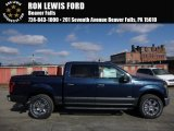 2016 Blue Jeans Ford F150 XLT SuperCrew 4x4 #110622907