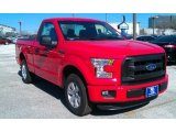2016 Race Red Ford F150 XL Regular Cab #110622851