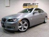 2007 Space Gray Metallic BMW 3 Series 335i Coupe #11042968