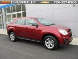 2010 Cardinal Red Metallic Chevrolet Equinox LS AWD #110642408
