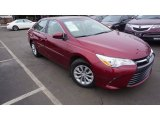 2015 Ruby Flare Pearl Toyota Camry LE #110642632