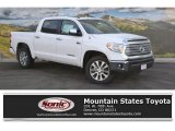 2016 Super White Toyota Tundra Limited CrewMax 4x4 #110642346