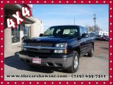 2005 Dark Blue Metallic Chevrolet Silverado 1500 LS Crew Cab 4x4 #110642617
