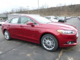 2016 Ruby Red Metallic Ford Fusion SE AWD #110642478