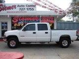 2001 Summit White Chevrolet Silverado 1500 LT Crew Cab 4x4 #11050550