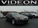 2010 Polished Metal Metallic Acura TSX Sedan #110673512