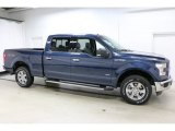 2016 Blue Jeans Ford F150 XLT SuperCrew 4x4 #110673147