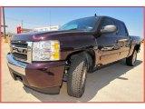 2008 Dark Cherry Metallic Chevrolet Silverado 1500 LT Crew Cab #11049534