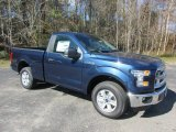 2016 Blue Jeans Ford F150 XLT Regular Cab 4x4 #110697878