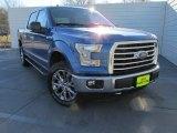 2016 Blue Flame Ford F150 XLT SuperCrew 4x4 #110697811