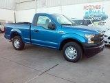2016 Blue Flame Ford F150 XL Regular Cab #110697613