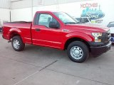2016 Race Red Ford F150 XL Regular Cab #110697612