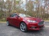 2016 Ruby Red Metallic Ford Fusion Titanium #110697875