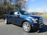 2016 Blue Jeans Ford F150 Platinum SuperCrew #110697871