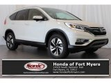 2016 White Diamond Pearl Honda CR-V Touring #110697558