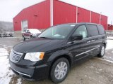 2016 Brilliant Black Crystal Pearl Chrysler Town & Country Touring #110697786