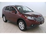 2014 Basque Red Pearl II Honda CR-V EX AWD #110697896