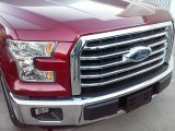 2016 Ruby Red Ford F150 XLT SuperCrew #110729487