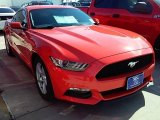 2016 Competition Orange Ford Mustang V6 Coupe #110729481