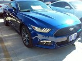 2016 Deep Impact Blue Metallic Ford Mustang EcoBoost Coupe #110729479