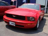 2006 Torch Red Ford Mustang V6 Premium Convertible #11050022