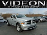 2012 Bright Silver Metallic Dodge Ram 1500 ST Quad Cab 4x4 #110729726