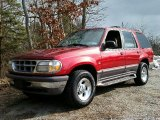 1997 Ford Explorer XLT 4x4 Front 3/4 View